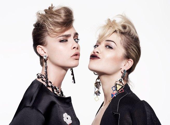Cara Delevingne And Rita Ora By Rankin For Hunger Tv May 2013