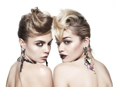 Cara Delevingne And Rita Ora By Rankin For Hunger Tv May 2013