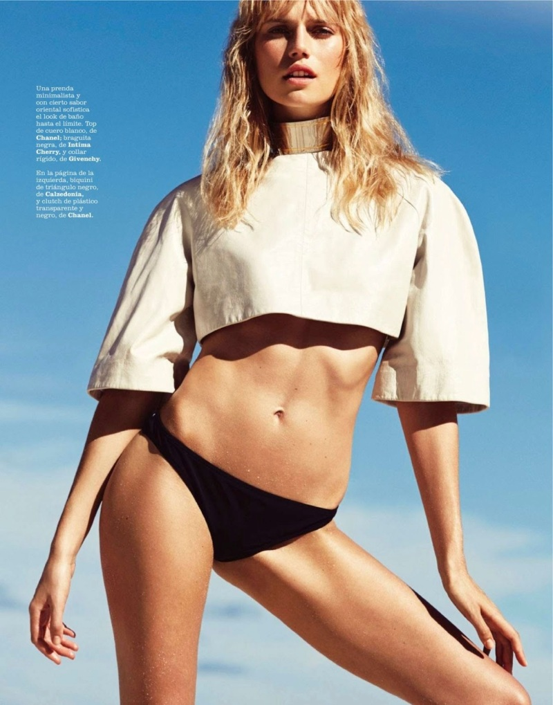 Cato Van Ee By Benjamin Vnuk For Marie Claire Spain June 2013