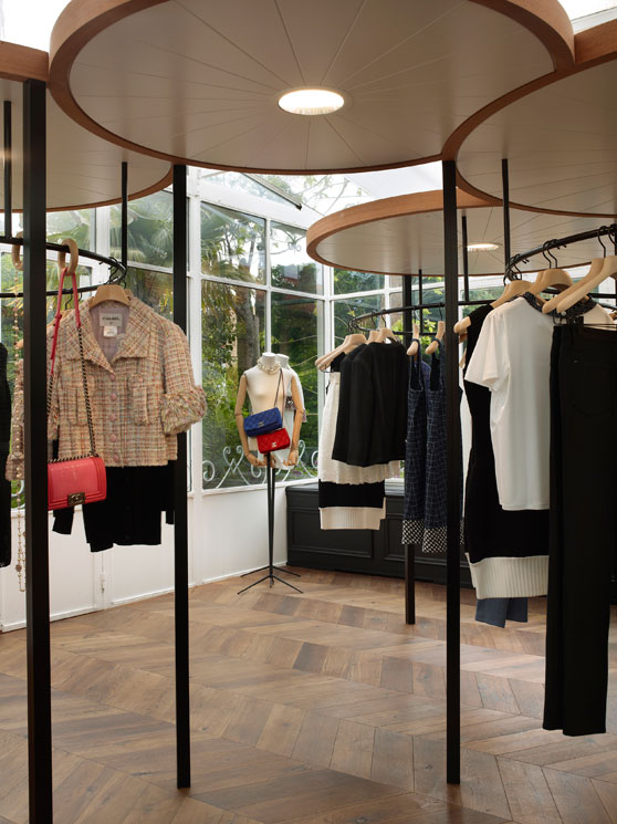 Chanel Boutique In St. Tropez