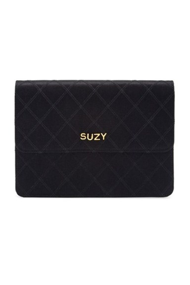 Suzy Menkes To Auction Her Wardrobe  Chanel personalised clutch bag  Estimate- £1,000 - £3,000