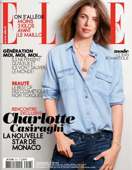 Charlotte Casiraghi By Cass Bird for Elle France