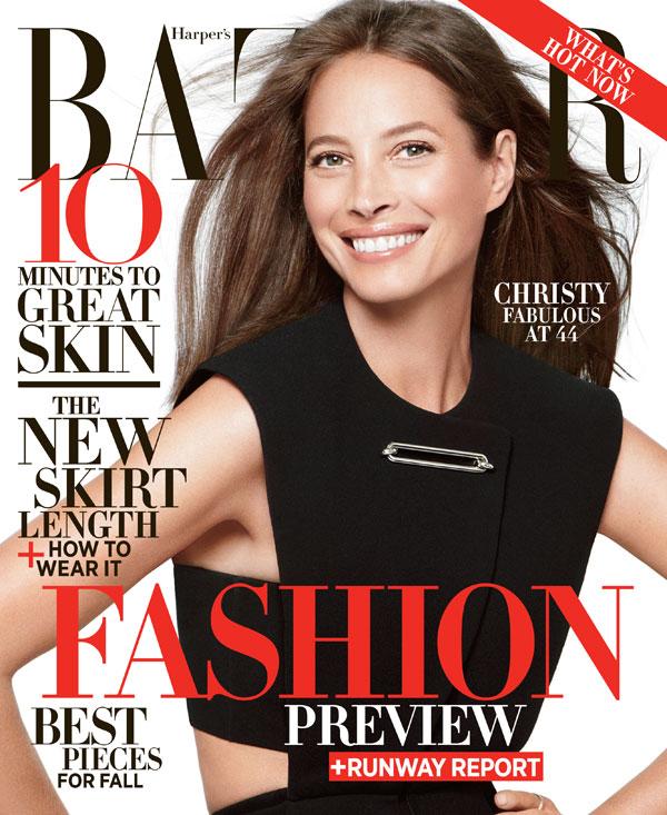 Christy Turlington by Daniel Jackson for Harper's Bazaar US June:July 2013