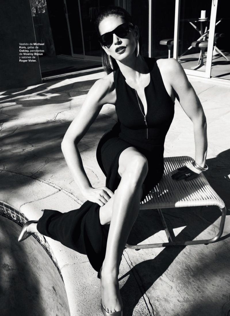 Cindy Crawford by Nagi Sakai for Harper's Bazaar Spain June 2013