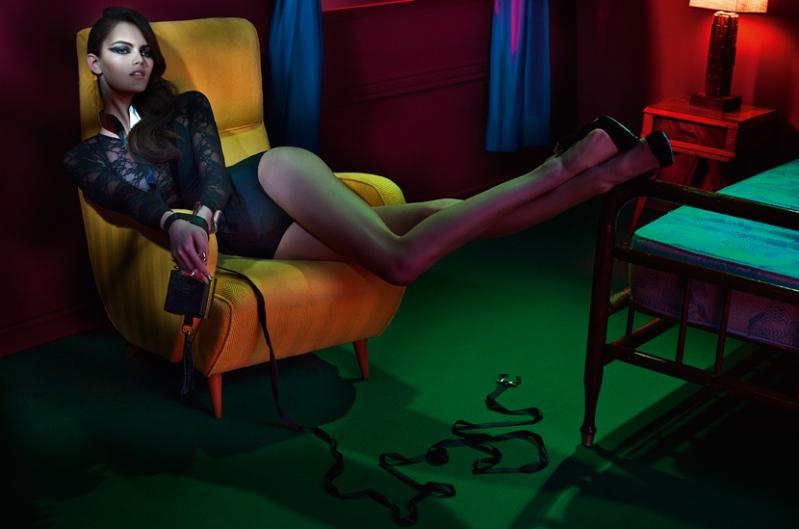Cris Herrmann & Kamila Hansen by Gui Paganini for Elle Brazil May 2013