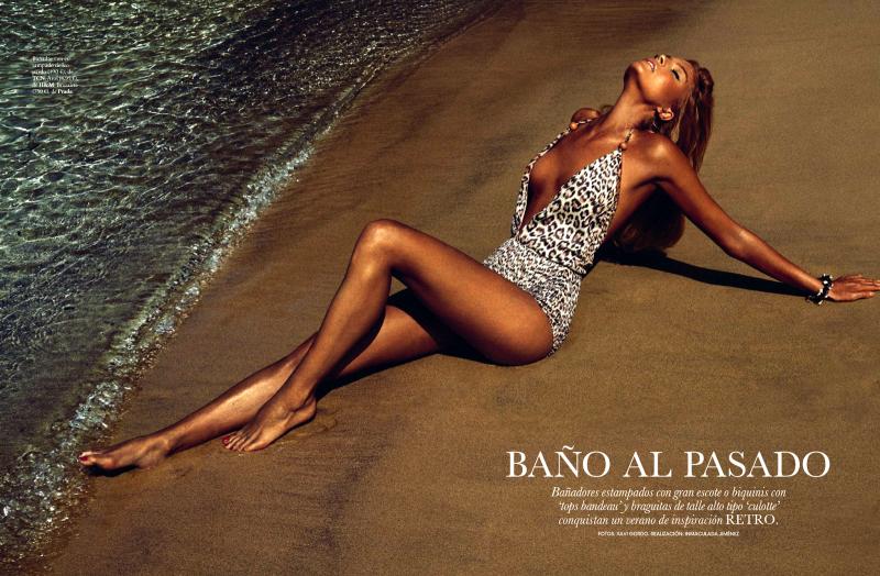 Cristina Tosio By Xavi Gordo For Elle Spain June 2013