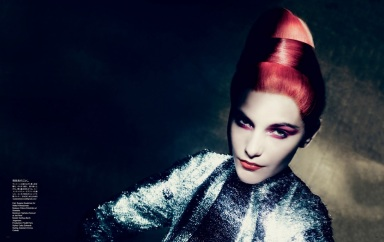 Dorothea Barth Jorgensen by Paolo Roversi for Vogue Japan July 2013