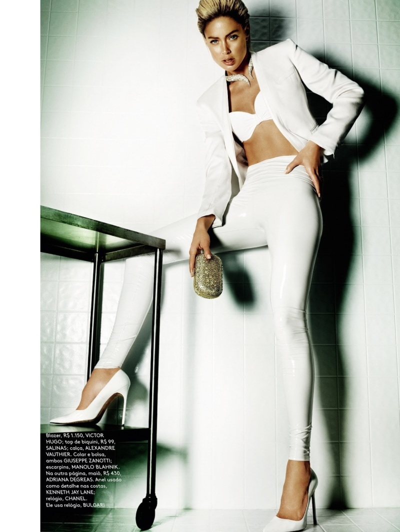 Doutzen Kroes for by Mario Testino for Vogue Brazil June 2013