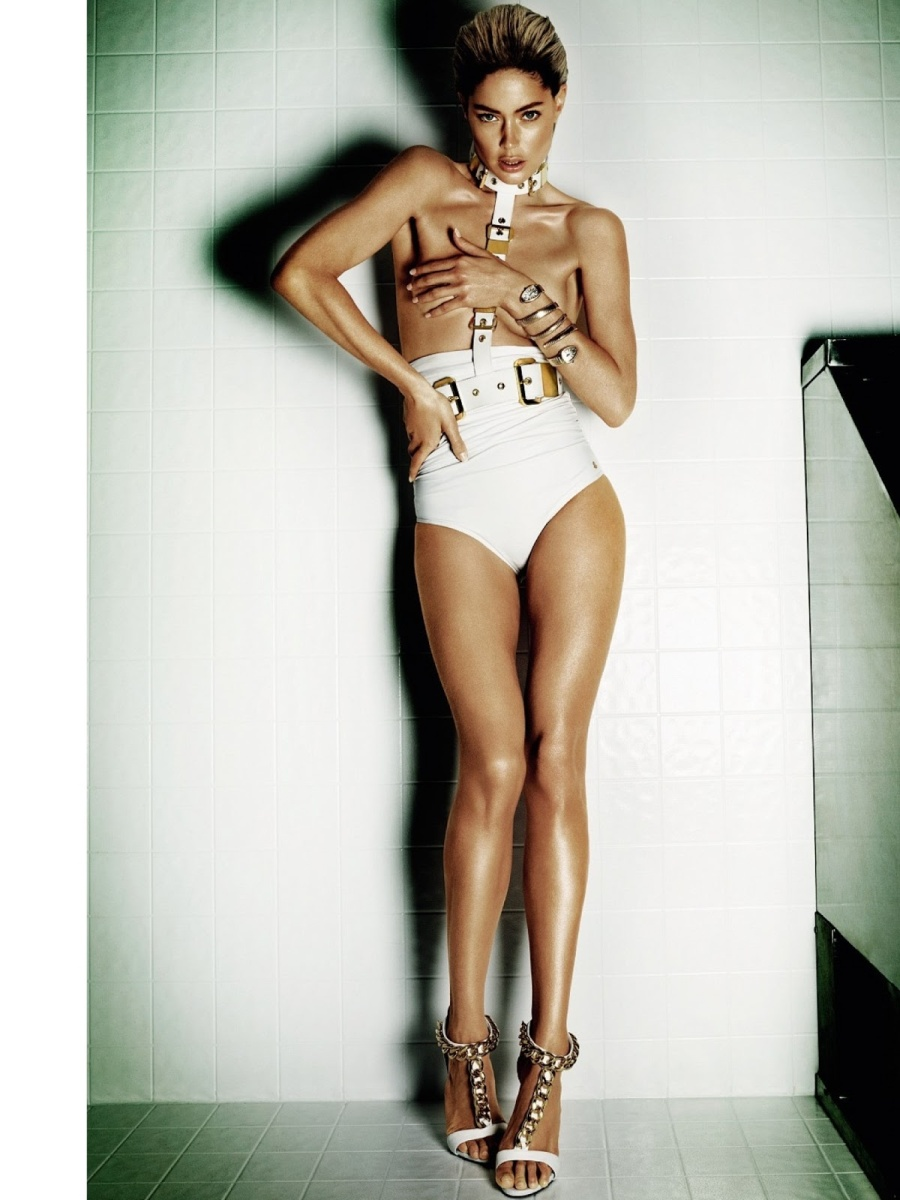 Doutzen Kroes for by Mario Testino for Vogue Brazil June ...