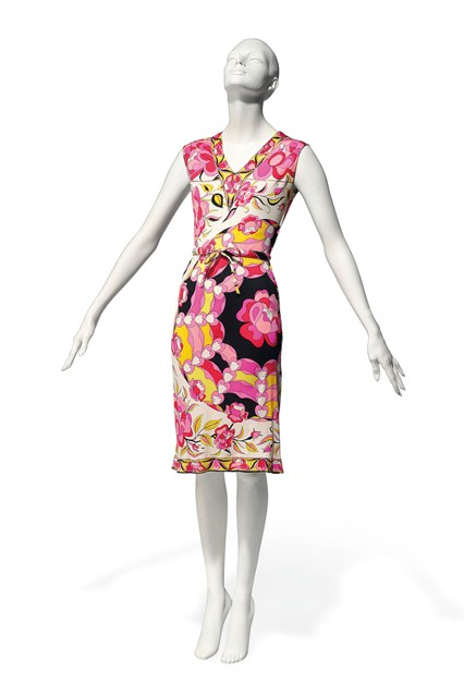 Suzy Menkes To Auction Her Wardrobe  Emilio Pucci sleeveless summer dress  Estimate- £250 – £350