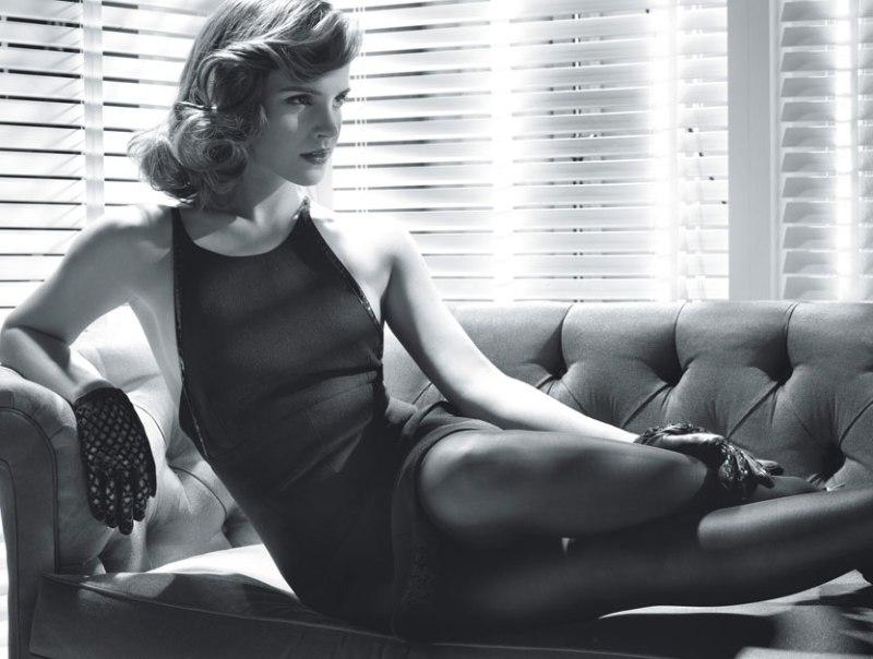 Emma Watson by Michael Thompson for W magazine June/July 2013