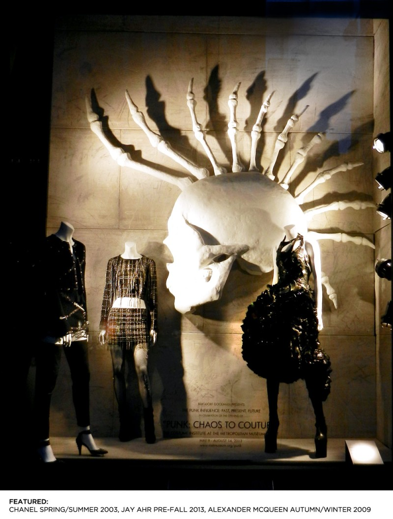 From Chaos to Couture At Bergdorf Goodman ,Celebrating the Costume Institute