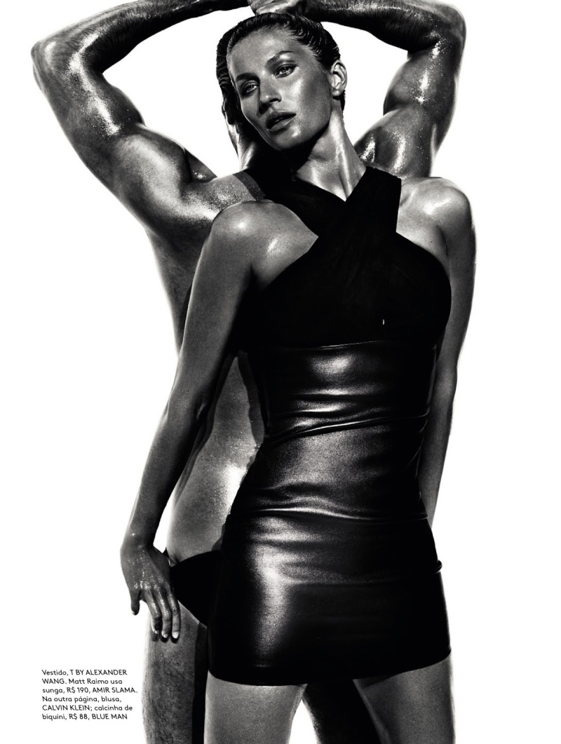 Gisele Bundchen by Mario Testino for Vogue Brazil June ...