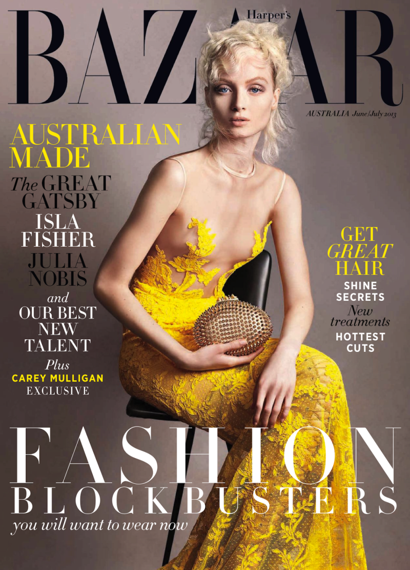 Harper's Bazaar Australia June/July 2013
