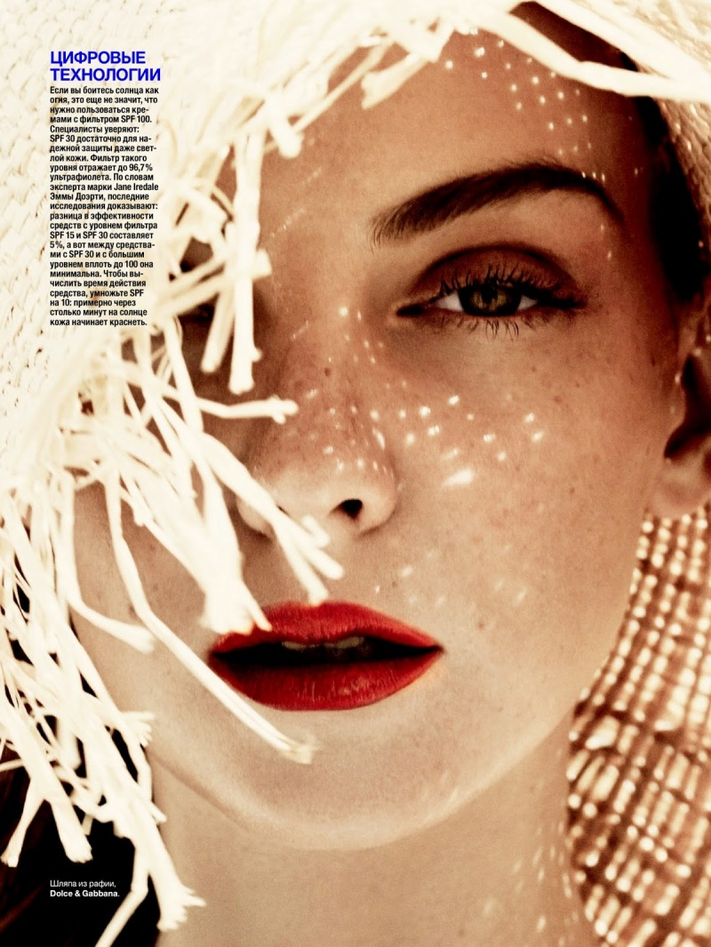 Heather Marks by Marcus Ohlsson for Allure Russia June 2013