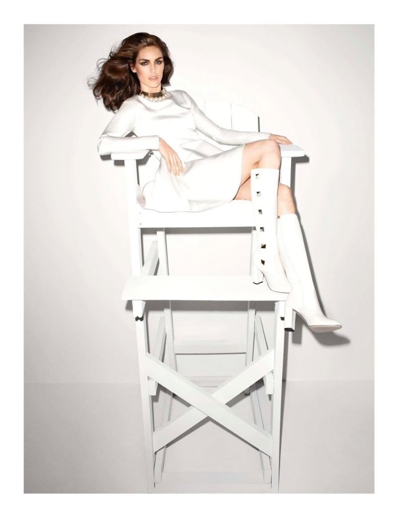 Hilary Rhoda by Terry Richardson for Vogue Paris June:July 2013