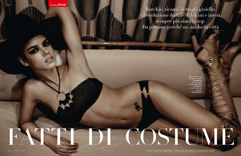 Hind Sahli By Wayne Maser For Vanity Fair Italia