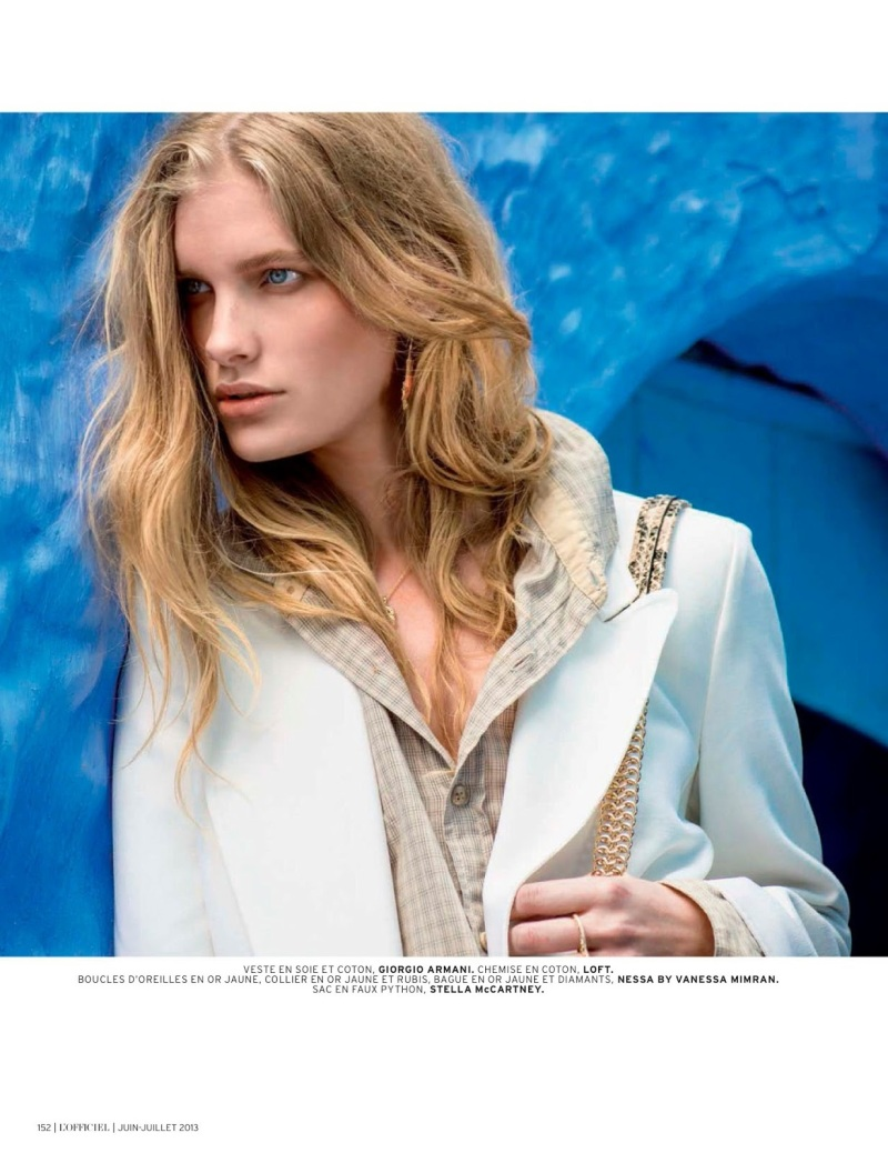 Ilse De Boer by Thanassis Krikis for L'Officiel Paris June/July 2013