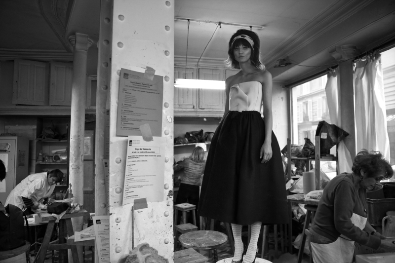 Irina Lazareanu By Baldovino Barani For Odda May 2013