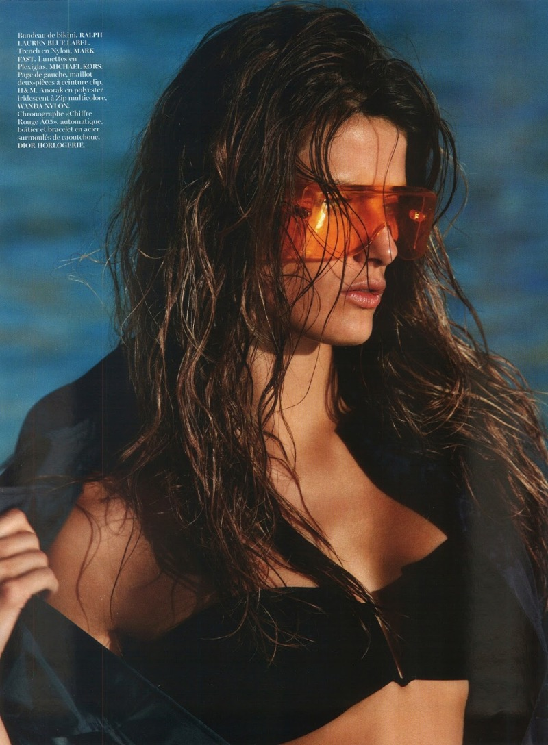 Isabeli Fontana by Gilles Bensimon for Vogue Paris June/July 2013