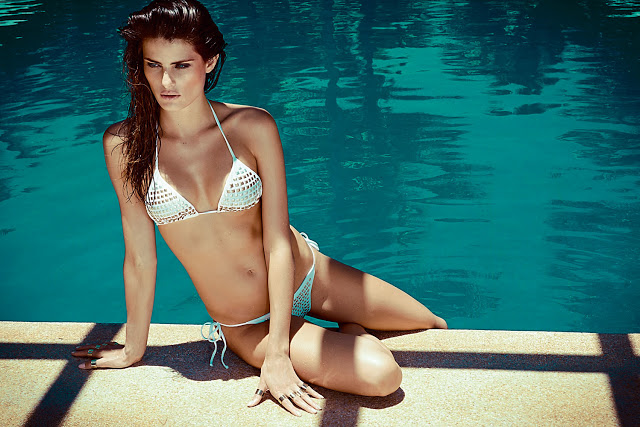 Isabeli Fontana by Jacques Dequeker for Morena Rosa Beach Fall 2013