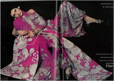 Benedetta Barzini by Richard Avedon for Vogue US November 1966
