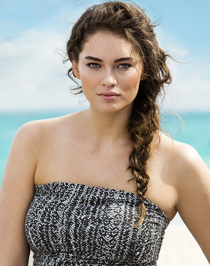 Jennie Runk for H&M Beachwear Summer 2013 Photo by Ceen Wahren