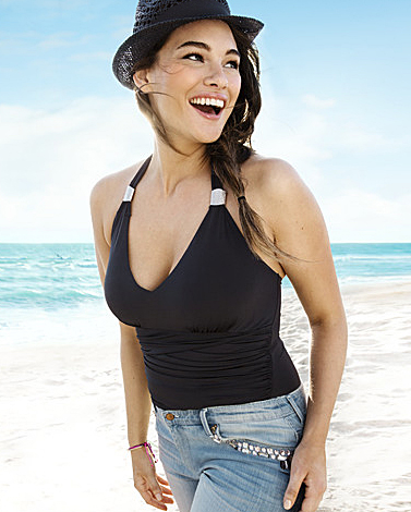 Jennie Runk for H&M Beachwear Summer 2013 Photo by Ceen Wahren