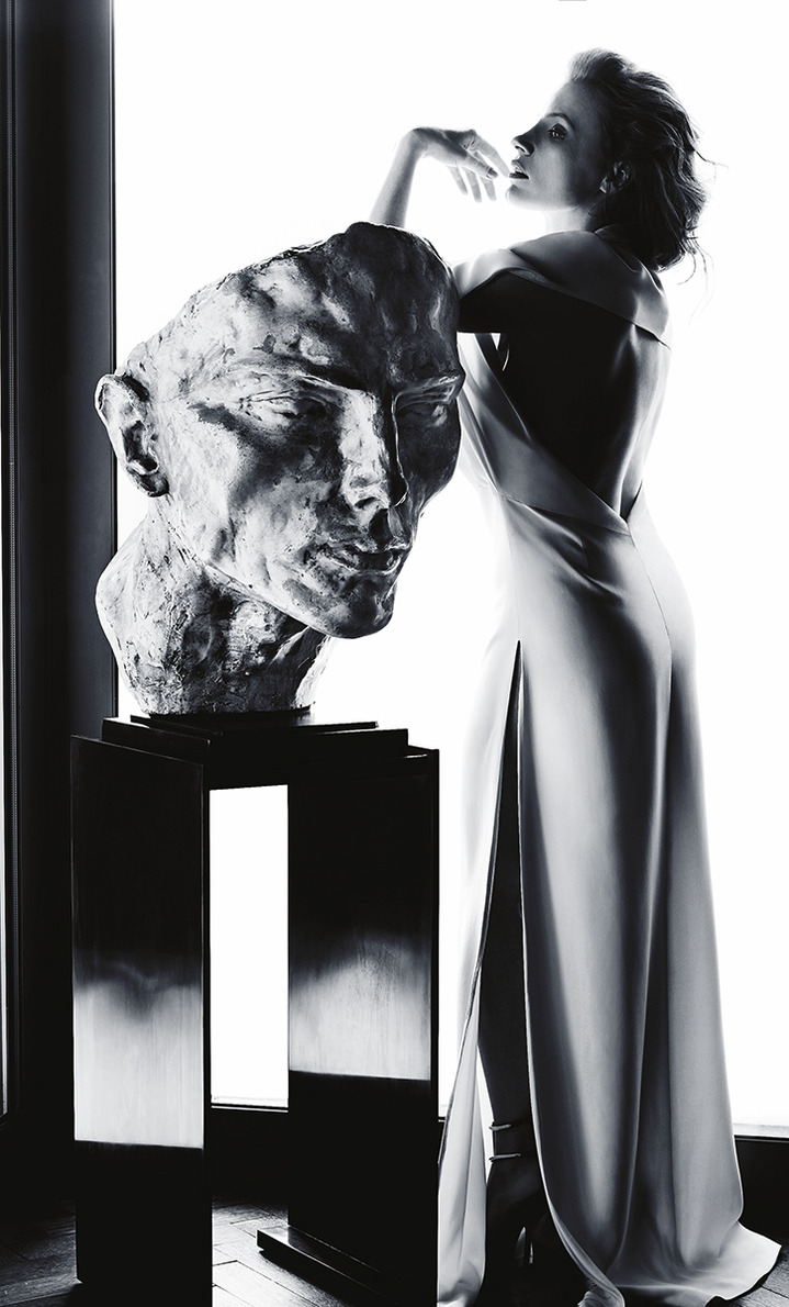 Jessica Chastain by James White for Madame Figaro France May 17, 2013