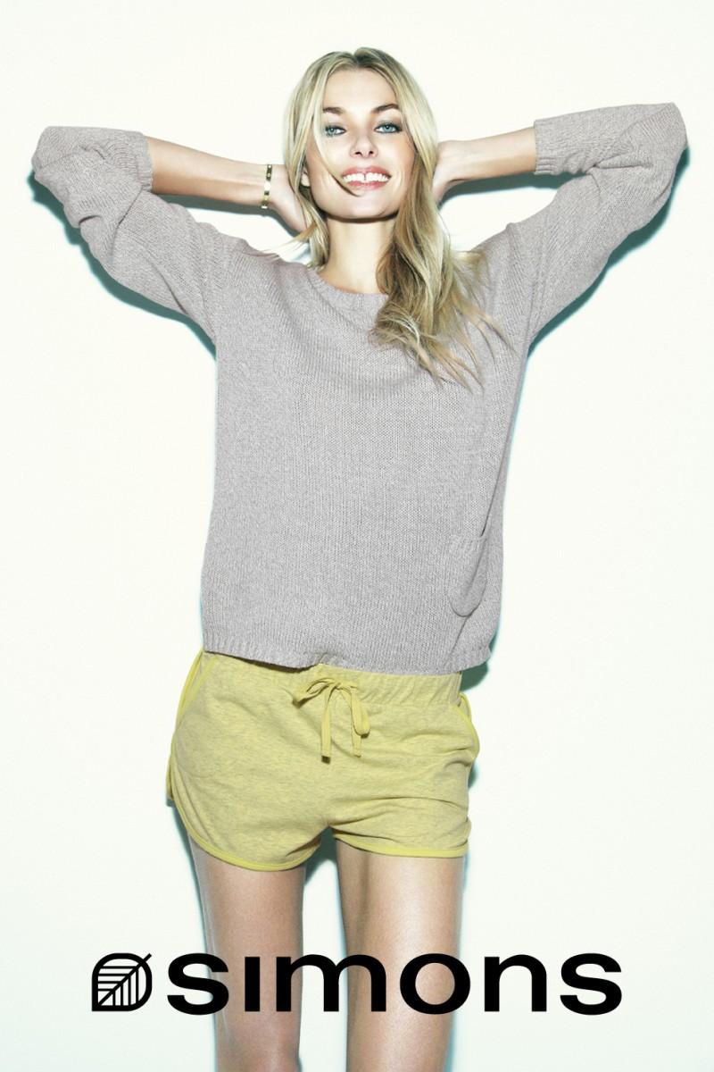 Jessica Hart By Richard Bernardin For La Maison Simons Summer 2013 Campaign