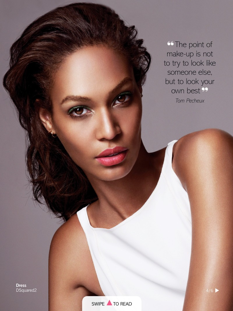 Joan Smalls by Jonas Bresnan for Glamour UK June 2013