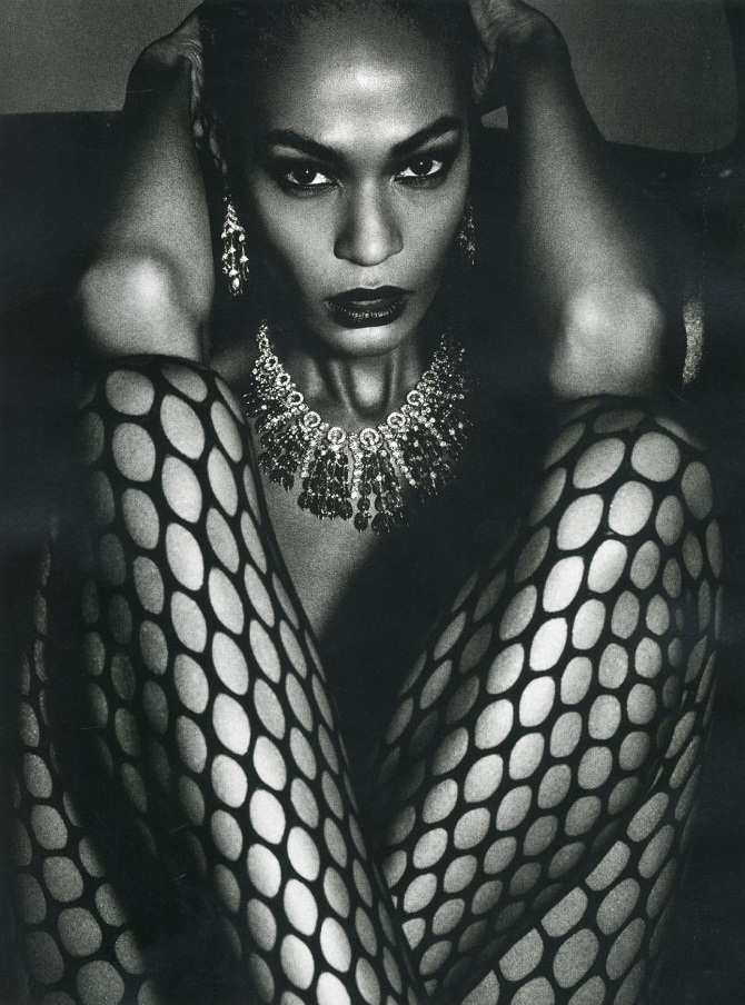 Joan Smalls by Mario Sorrenti for Vogue Paris June/July 2013