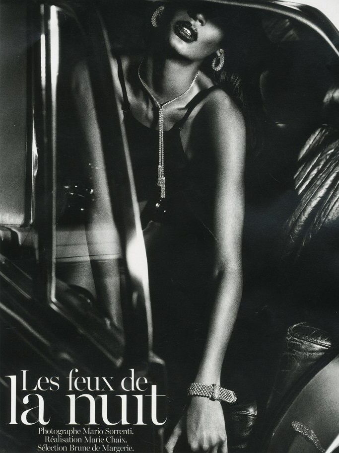 Joan Smalls by Mario Sorrenti for Vogue Paris June/July 2013