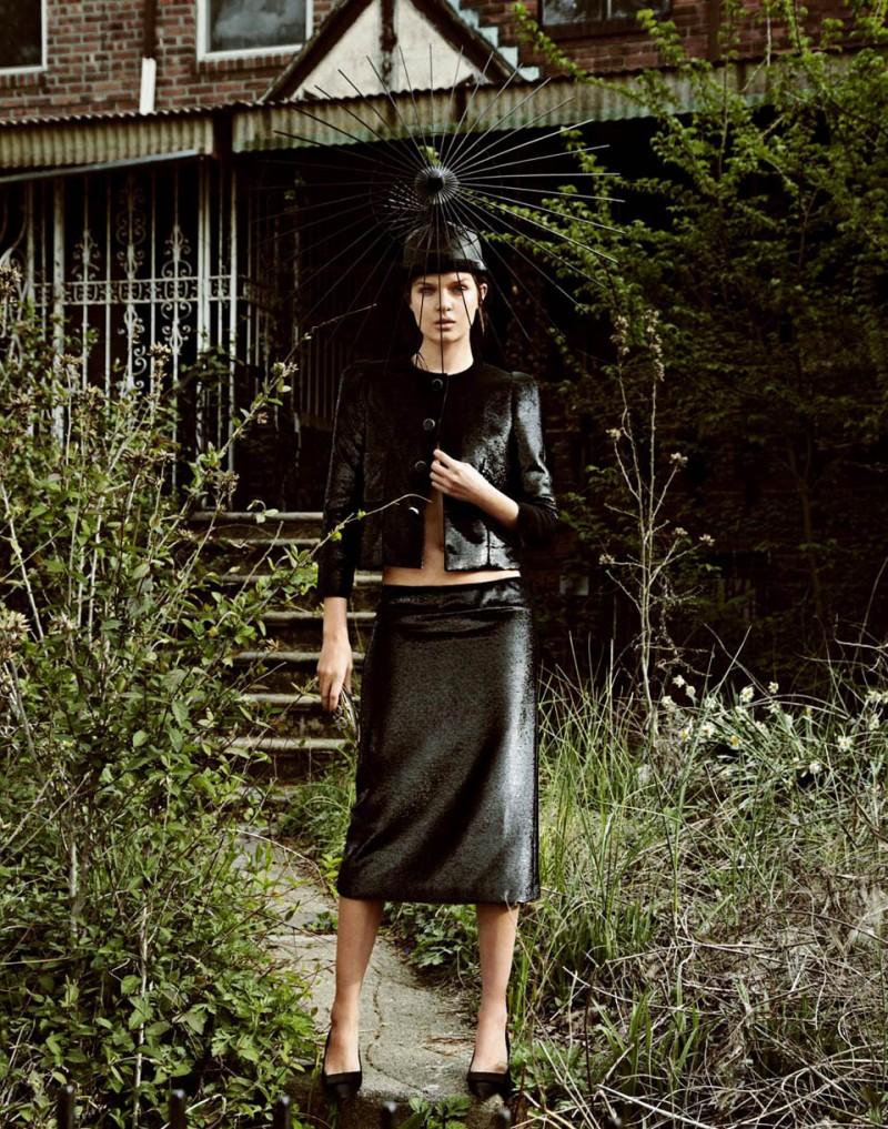 Josephine Skriver by Jason Kim for V #83 summer 2013 issue