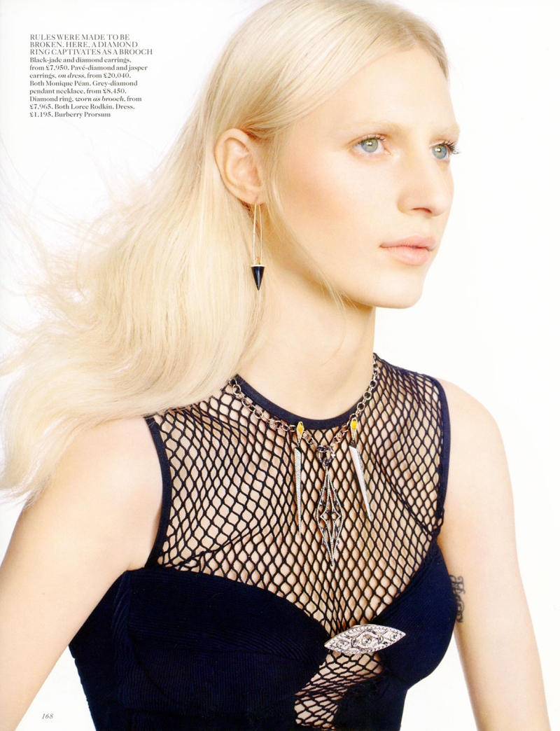 Julia Nobis by Scott Trindle for Vogue UK July 2013