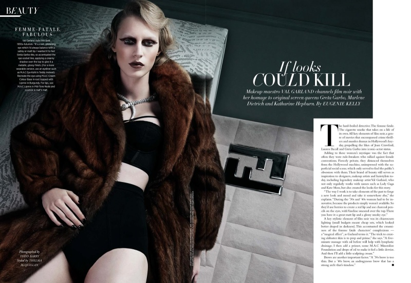 Julia Nobis by Todd Barry for Harper's Bazaar Australia June/July 2013