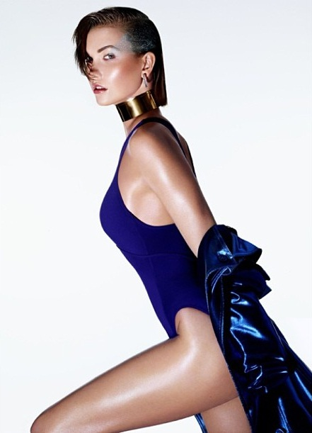 Karlie Kloss For Sunday Times Style May 2013