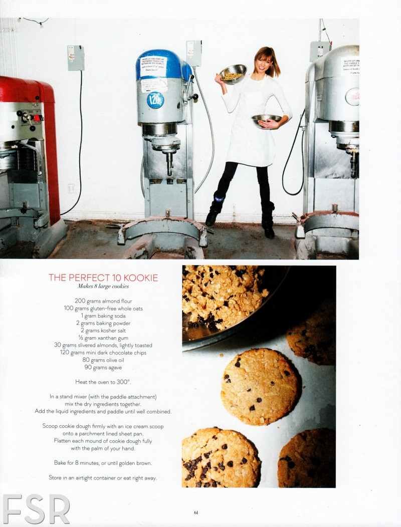 """Karlie Kloss in  """"In The Mix"""" by Jennifer Livingston for Cherry Bombe S/S 2013 First Issue"""