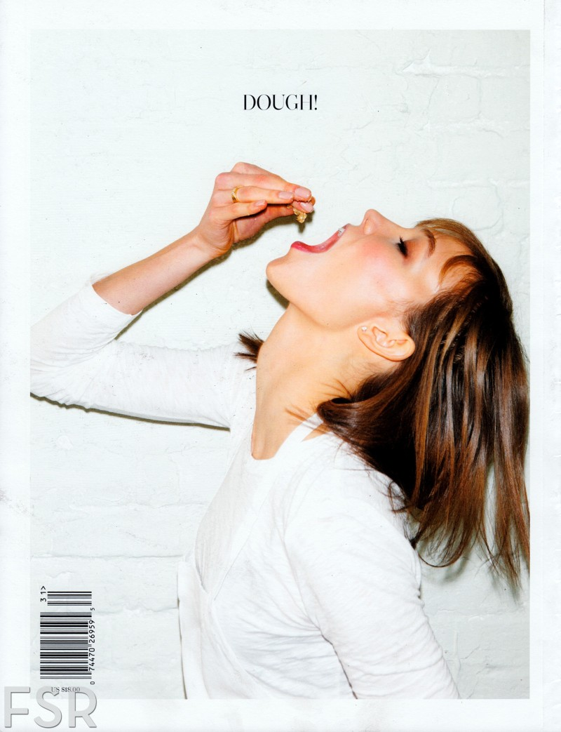 "Karlie Kloss in  ""In The Mix"" by Jennifer Livingston for Cherry Bombe S/S 2013 First Issue"