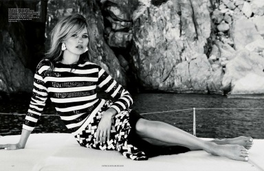 Kate Moss by Patrick Demarchelier for Vogue UK June 2013