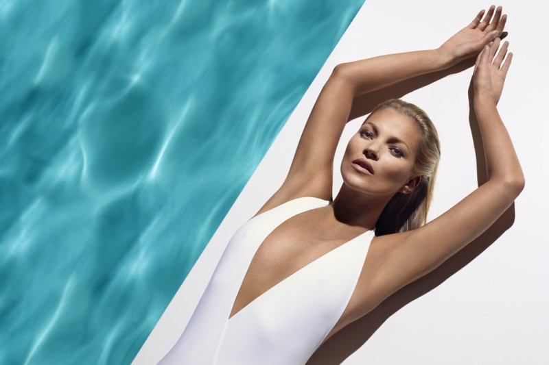 Kate Moss For St Tropez Summer 2013 Campaign