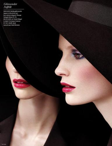 Katrin Thormann by Josh Jordan for Elle Germany March 2013