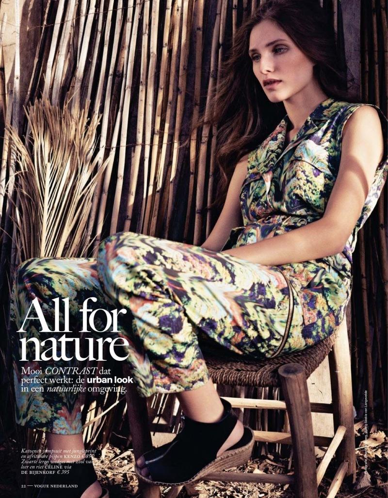 Kelsey Van Mook by Johan Sandberg for Vogue Netherlands June 2013