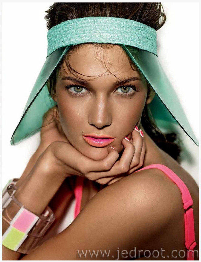 Kendra Spears by Giampaolo Sgura for Allure Russia June 2013