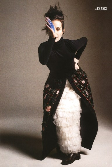 Lady Amanda Harlech by Cedric Buchet for 10 Magazine Summer 2013