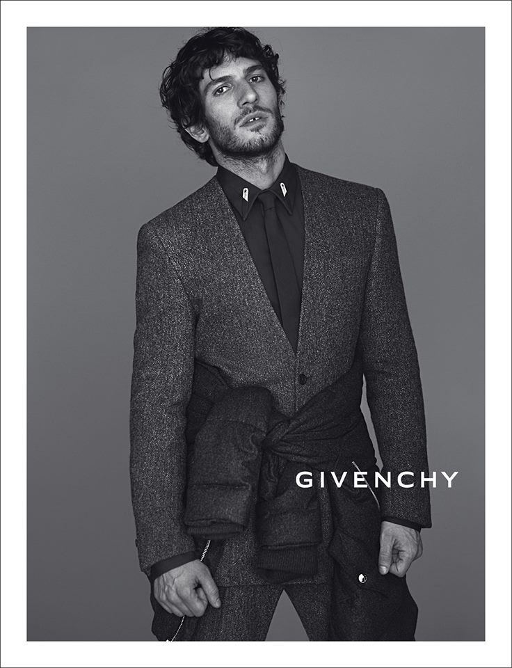 Mariano Ontañon by Mert & Marcus for Givenchy Fall 2013 Ad Campaign