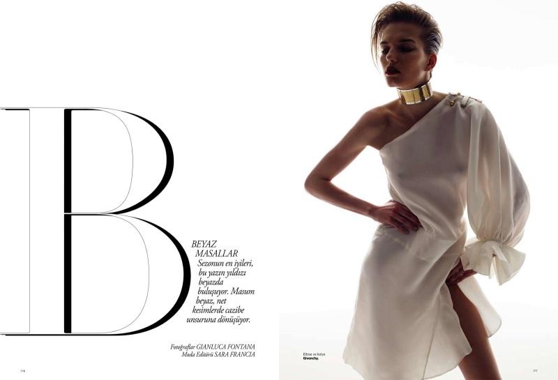 Marique Schimmel By Gianluca Fontana For Harper's Bazaar Turkey June 2013