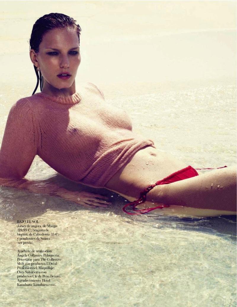 Marique Schimmel by Miguel Reveriego for Vogue Spain June 2013