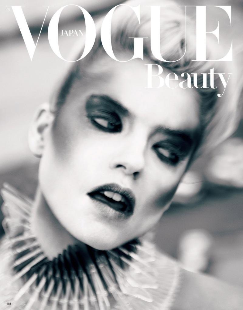 Martha Hunt by Sølve Sundsbø for Vogue Japan July 2013