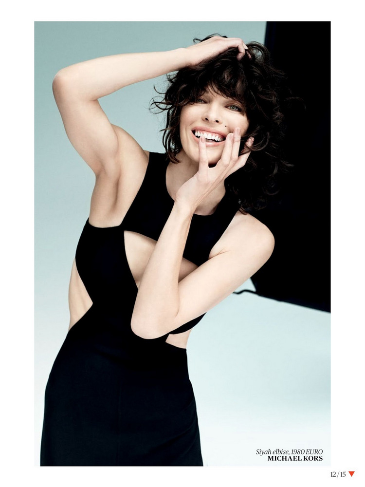 Milla Jovovich By Sebastian Faena For Vogue Turkey May 2013